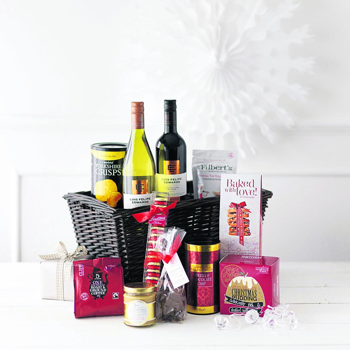 Festive treats in the hamper oxford mail festive treats in the hamper solutioingenieria Image collections