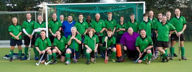 Oxford Mail: Bicester men's 2nd and 3rd teams look smart in their new shirts courtesy of club sponsors Bicester Village