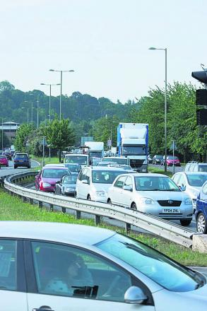 Drivers in Headington face delays