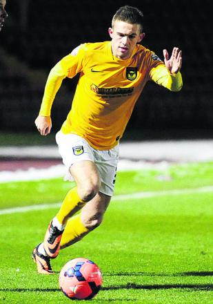 Matt Bevans made his Oxford United debut in the FA Cup