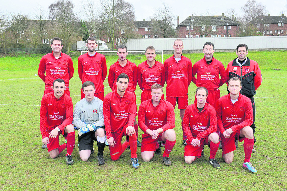 Benson Lions: Back row (from left): Ian McRobbie Smith, Luke Willis, Rob Gray, Andrew Richardson, Mark Featherston, Pete Smiley, Matthew Webb. Front: Kyle Hares, Andy Duncan, Phil Goss, Adam McLeish, Chris Billows,