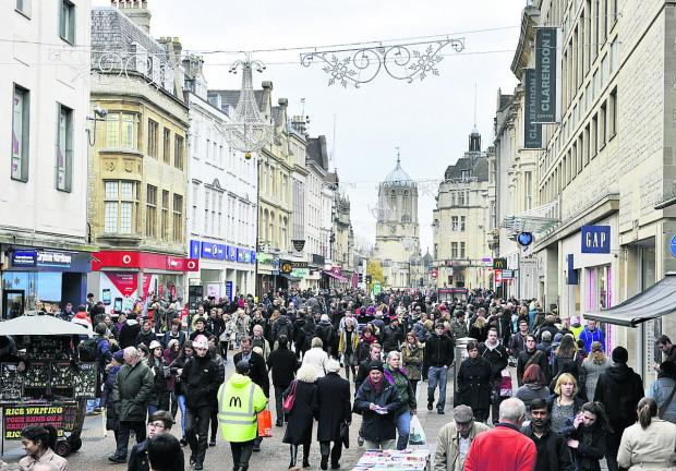 Bringing back buses to Cornmarket, pictured, is madness, says our columnist