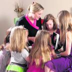 Oxford Mail: Beautician Karn Paine holds a Pamper Party for teens