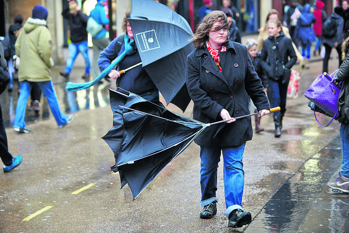 Saturday set to be wet as severe weather warning issued
