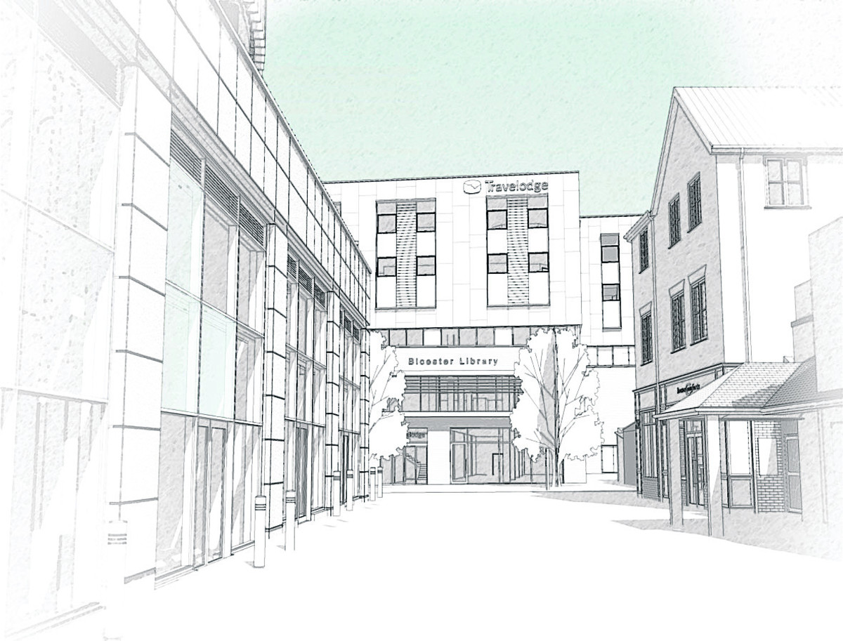 Artist's impression of the new building.