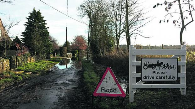 Lower Radley, near Abingdon, is among areas braced for flooding