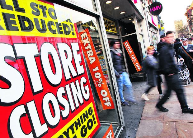 HMV is finally closing down on Cornmarket Street