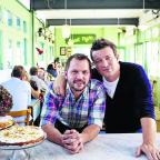 Oxford Mail: Jimmy Doherty stars with Jamie in 'Jamie and Jimmy's Friday Night Feast'