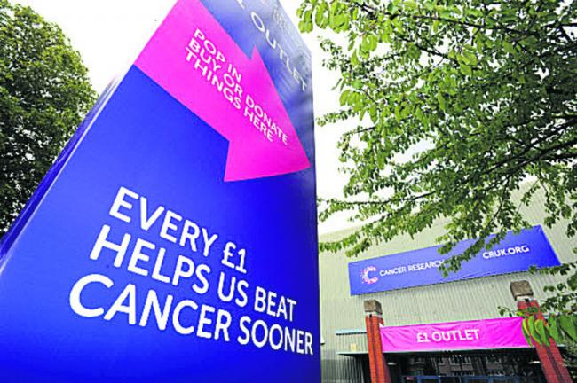 The Cancer Research UK £1 outlet which moved into the old Halfords store on Botley Road last August
