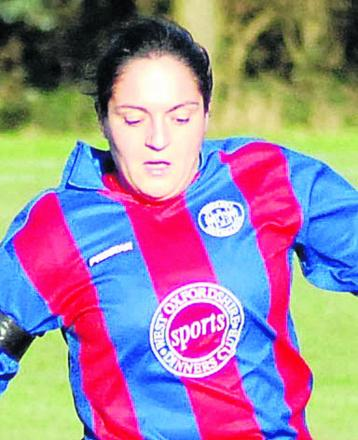 Samantha Bevan-Talbot's double was in vain as they lost to Mansfield Road in the Women's County Cup