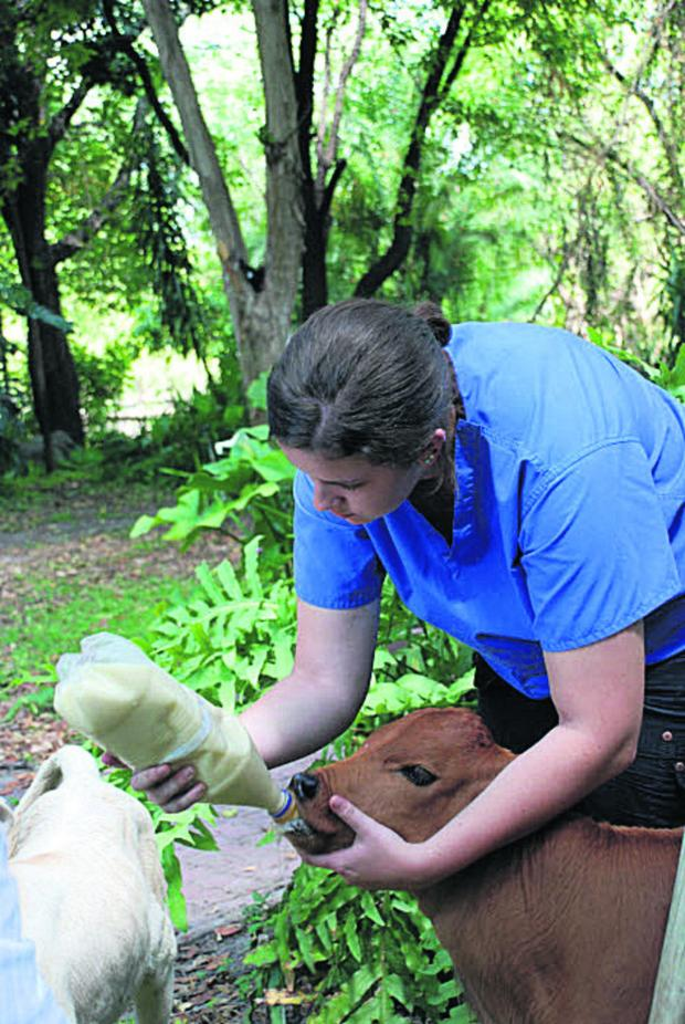Oxford Mail: Lauren Jobson in action in Botswana