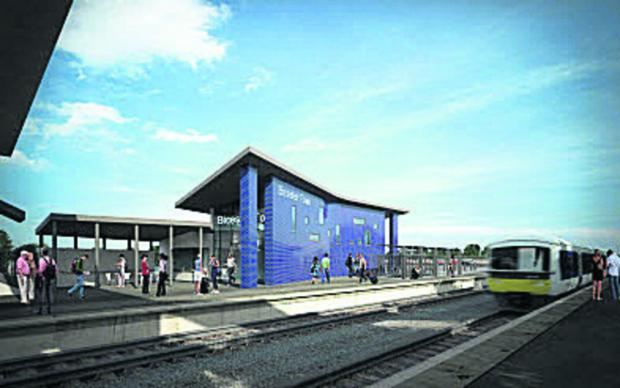 The new Bicester station design