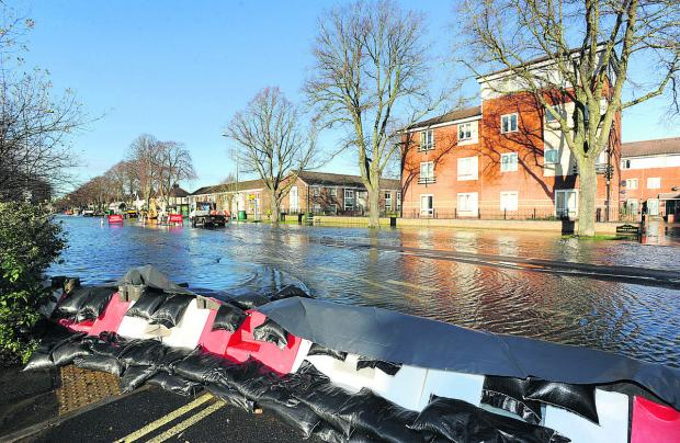 Flooding in Oxford's Botley Road earlier this month. Picture: OX64549 Jon Lewis