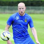 Oxford Mail: Andy Whing is hoping to be back in training by early March