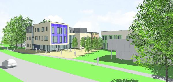Oxford Mail: How the proposed new college building would look