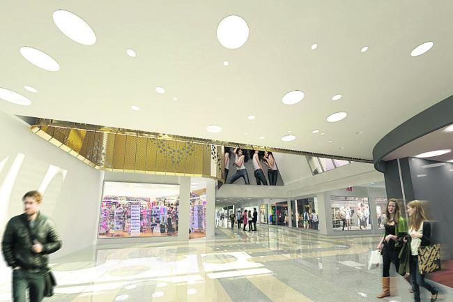 An artist's impression of the new H&M at the Clarendon Centre