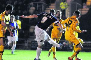 Newport County 3 (Howe 45+1, Burge 70, Zebroski 82), Oxford United 2 (Constable 14, Potter 87) + Video
