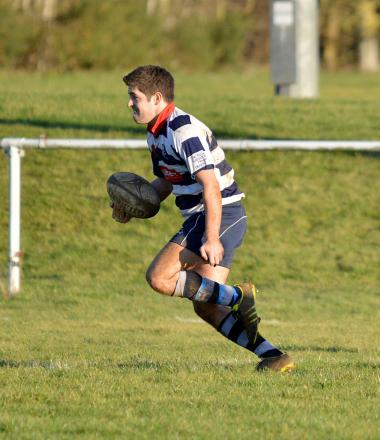 Josh Deegan went over for two tries as Banbury reached the semi-finals of the Oxfordshire Cup