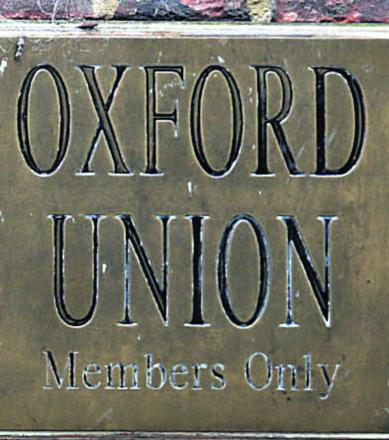 Calls to replace Oxford Union president