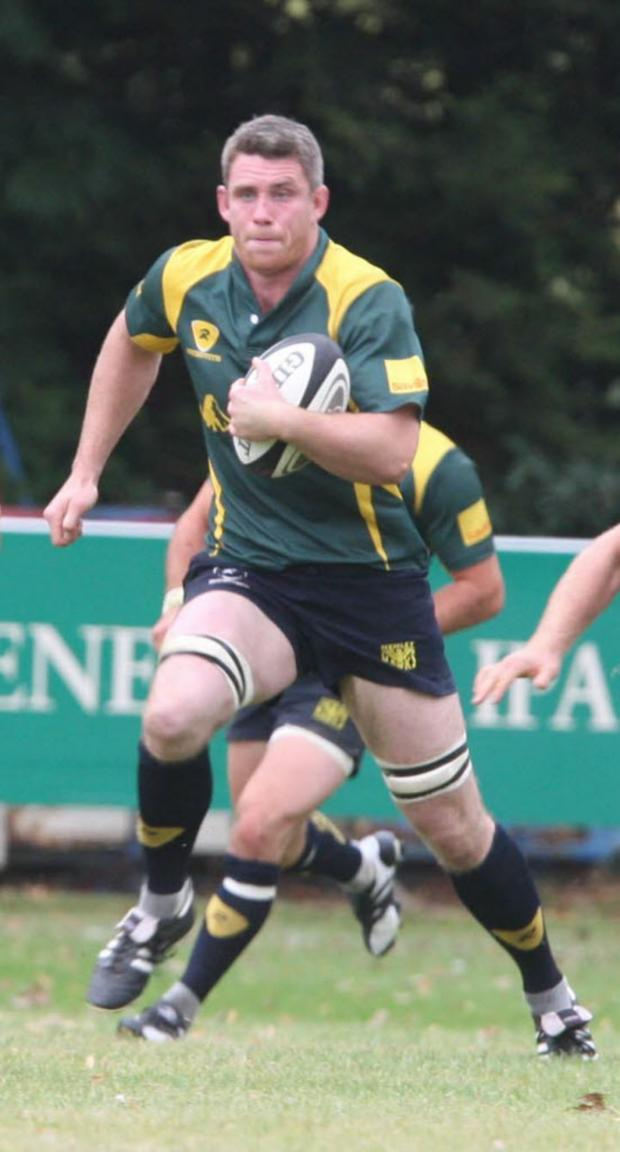 Oxford Mail: Matt Payne scored a try for Henley