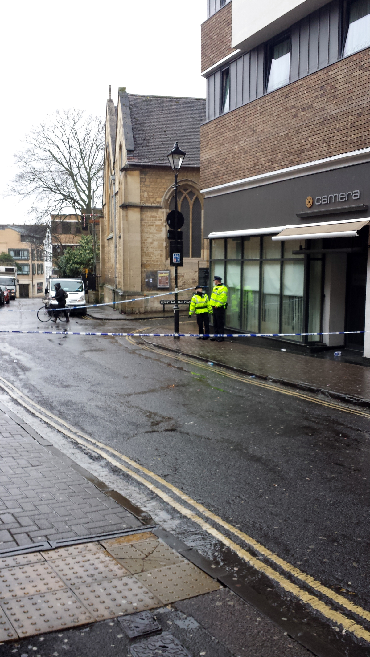 Update: St Ebbe's Street closed by police after man suffers serious head injury in assault