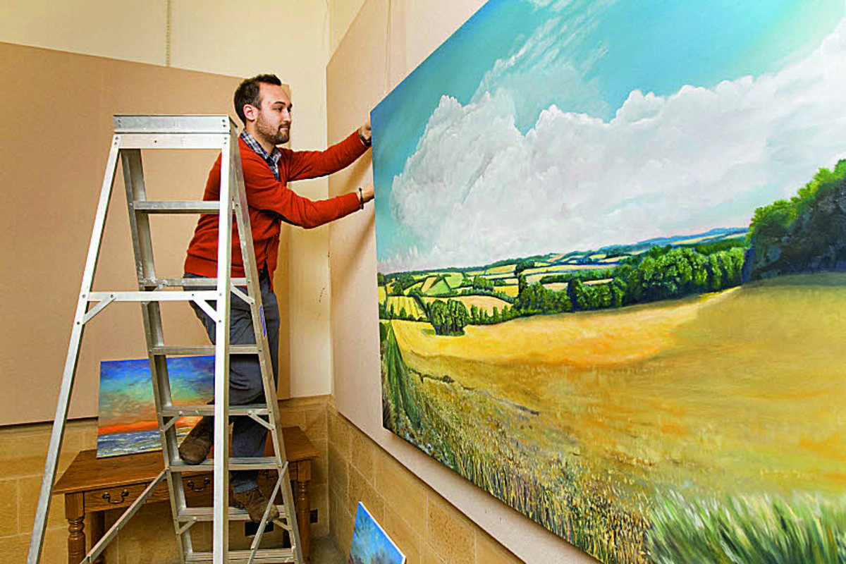 Wife's legacy inspires art exhibition
