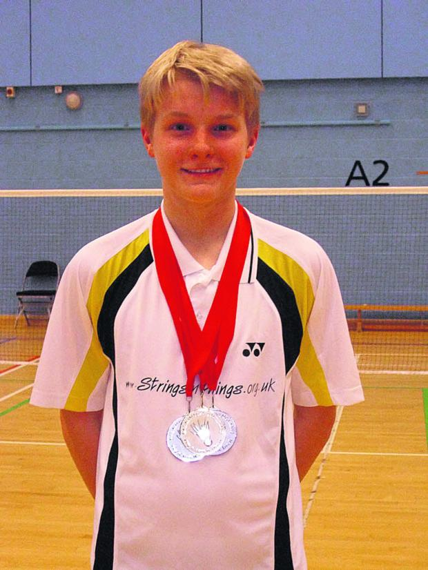 Oxford Mail: Alex Cook in the medals