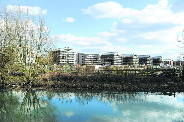 Oxford Mail: CONTROVERSIAL: The Castle Mill development in Oxford