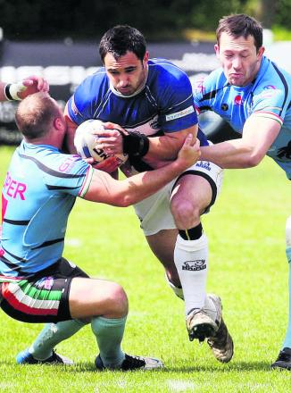 Andrew Hoggins scored one of Oxford RL's tries in their disappointing 47-28 defeat at Gateshead Thunder