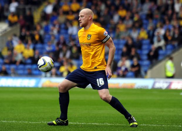Oxford Mail: Andy Whing has set his sights on bringing Oxford United a much-needed victory tomorrow at Chesterfield