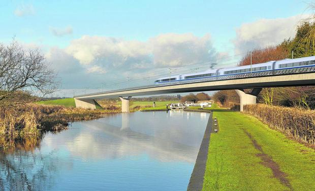 Oxford Mail: The cost of the HS2 high speed railway line, linking London, Birmingham and the North, could spiral from current estimates of £42.6bn to more than £80bn, opponents of the link, which cuts across north east Oxfordshire, have claimed