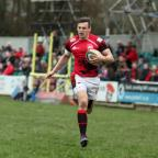 Oxford Mail: Nick Scott scores London Welsh's opening try
