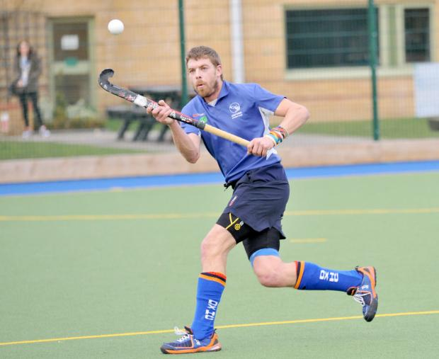 Dan Bleach netted twice for Oxford against Aylesbury