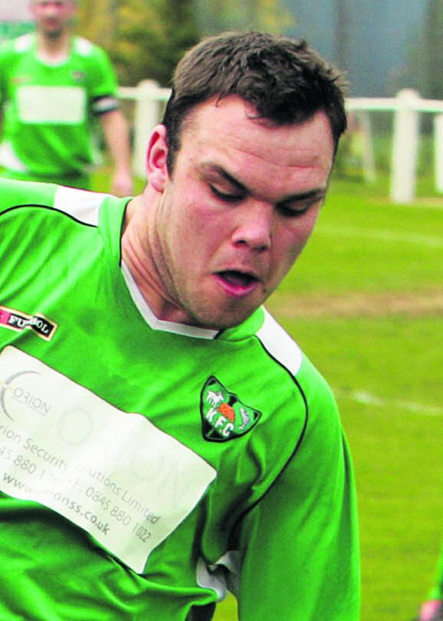 Oxford Mail: Jimmy Deabil scored Wantage Tow