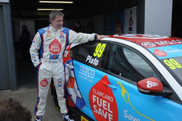 Oxford Mail: Oxfordshire's Jason Plato pictured with his car ahead of the new season, which starts today              Picture: Lee Foxon