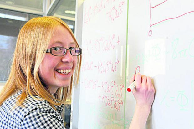 Oxford Mail: RESEARCH: Tessa Baker has won a science award in Parliament