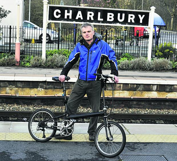 Oxford Mail: North and West Oxfordshire Sustrans co-ordinator Richard Fairhurst