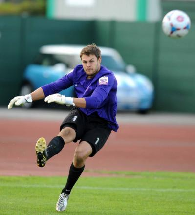 Goalkeeper Mark Scott returns to the City squad following a back injury