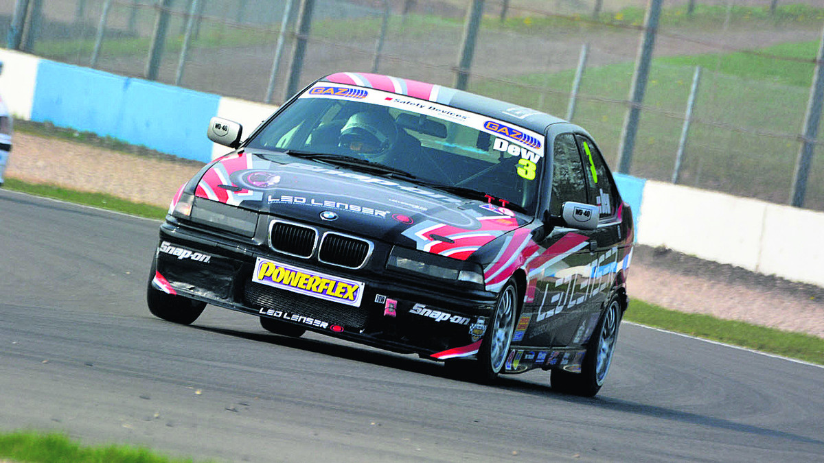 MOTORSPORT: Dew's delight at second spot