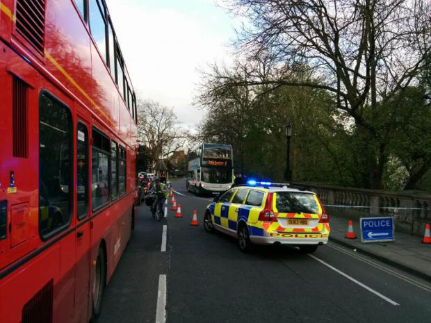 Cyclist still in hospital after bus collision in Oxford's High Street