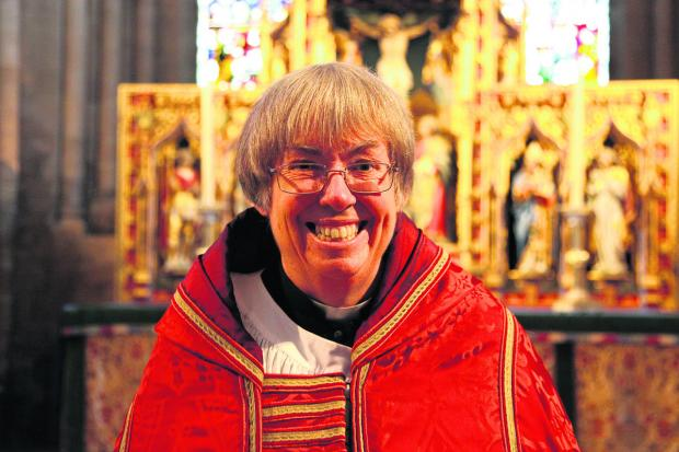 Angela Tilby, Diocesan Canon at Christ Church, Oxford
