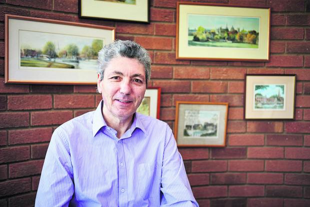 Oxford Mail: Paul Mayhew-Archer at his home in Drayton