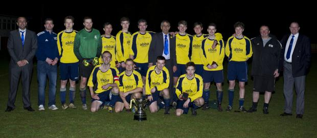 Abba Athletic with the Coronation Cup