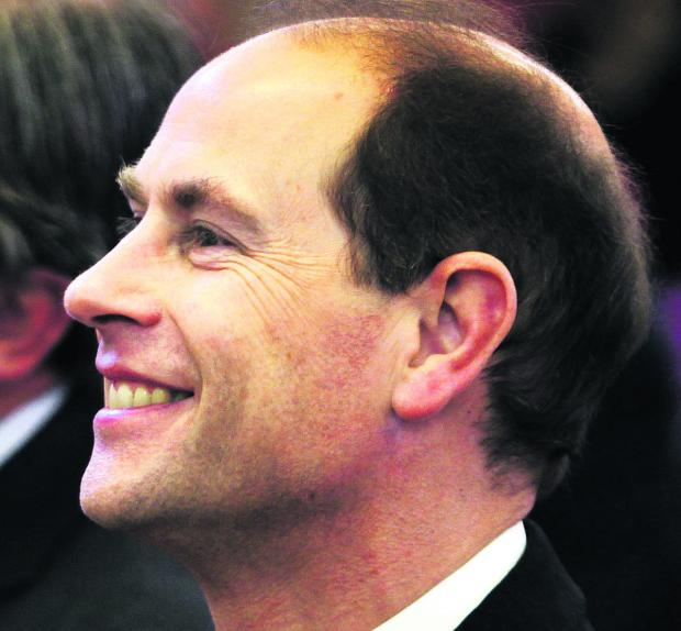 Oxford Mail: Prince Edward