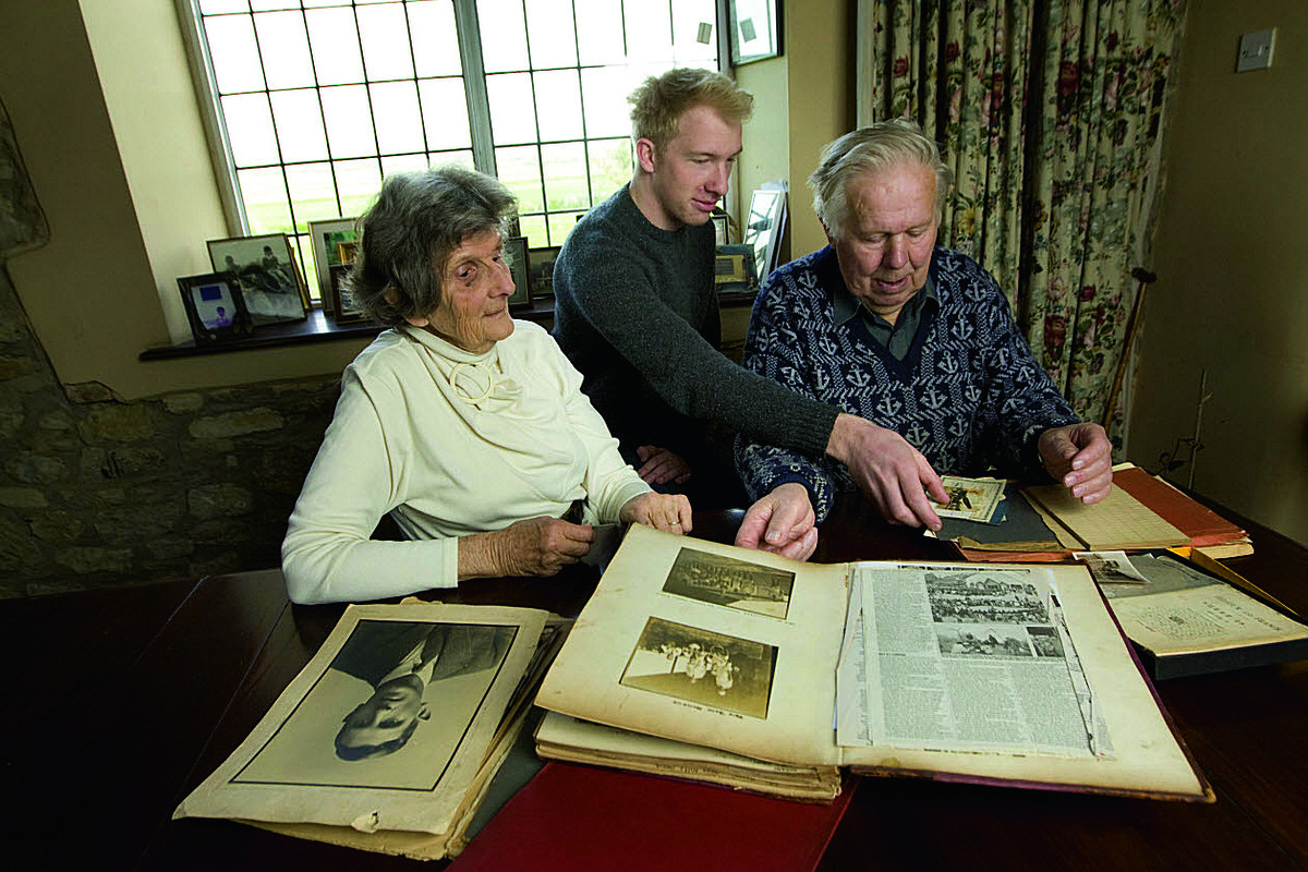 Family print 'inspirational' book of relative's