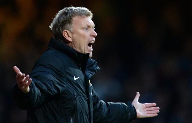 David Moyes's face tells its own story of frustration
