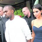 Oxford Mail: Kanye West and Kim Kardashian