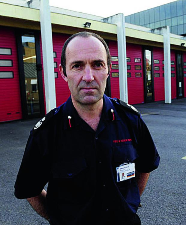 Oxford Mail: Assistant chief fire officer Simon Furlong