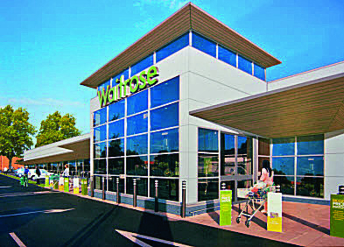 Artist's impression of the planned Waitrose on Botley Road