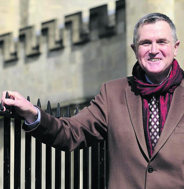 Oxford Mail: Martin Peters was a commited choral tenor as well as being headmaster of Benson Primary School from 1985 to 2004